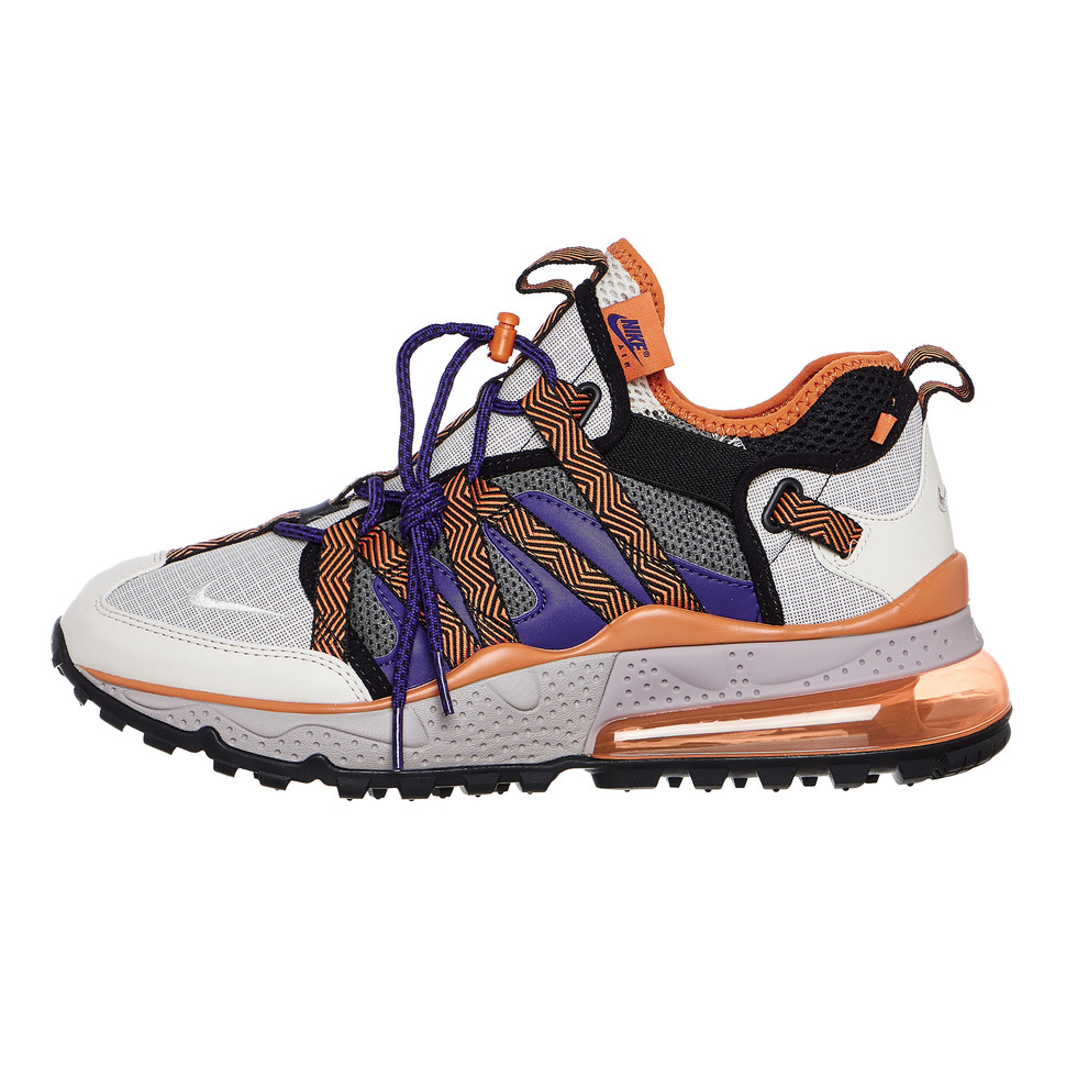 Nike Air Max 270 Bowfin Pumice Orewood Cinder Orange AJ7200 201