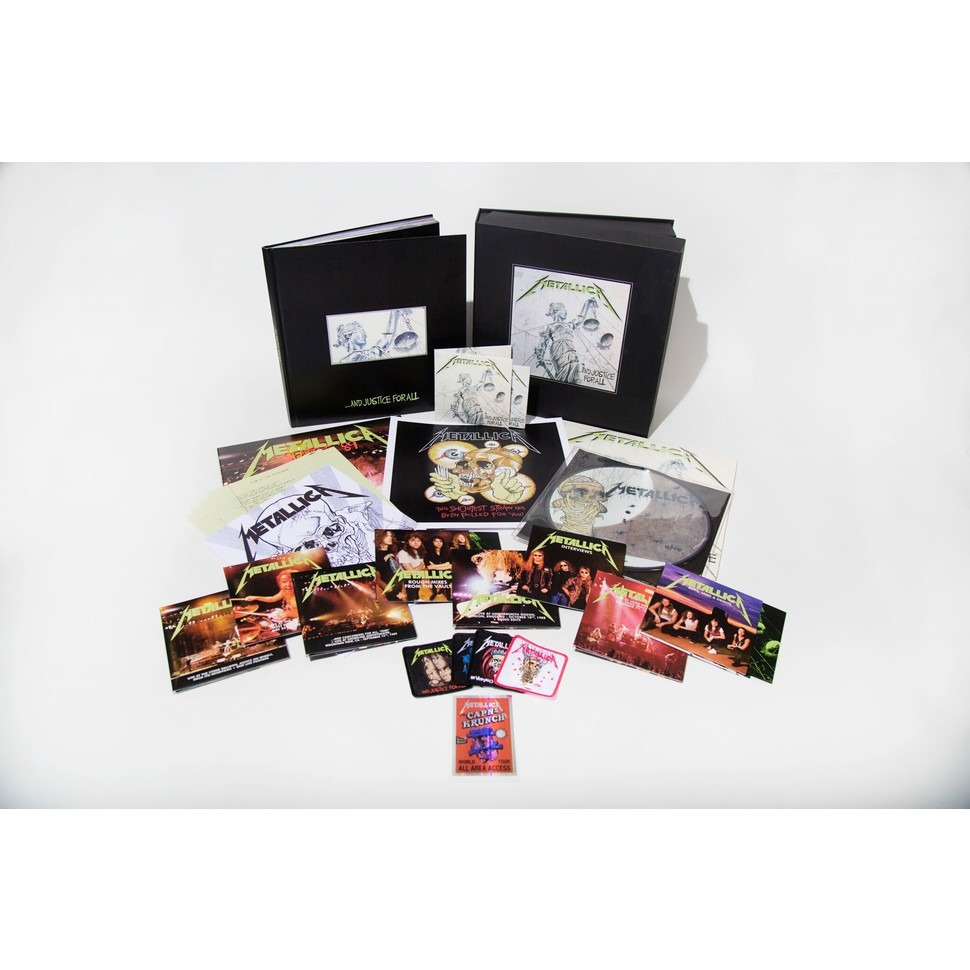 Metallica - And Justice For All Remastered Deluxe Box Set