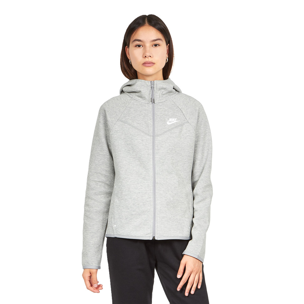 nike w nsw tech fleece hoodie fz