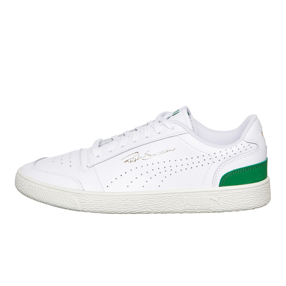 Puma Ralph Sampson Lo Perf Soft (Puma White Amazon Green