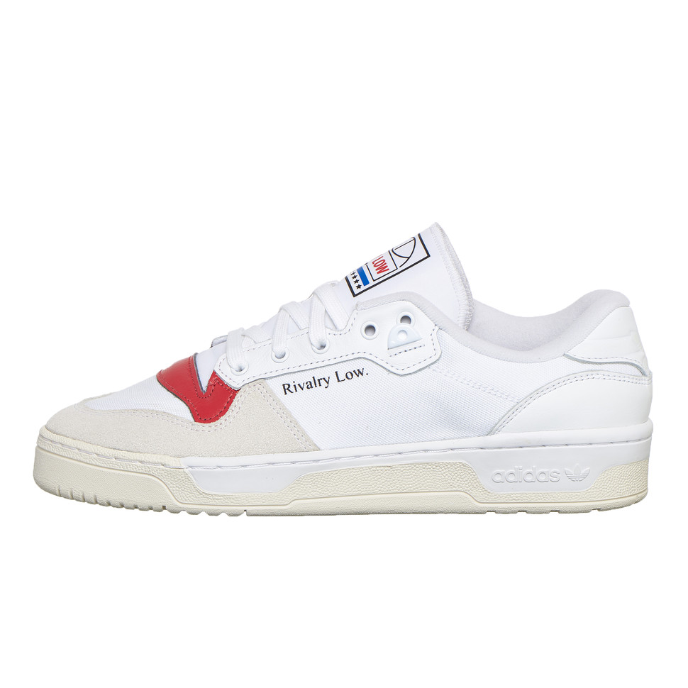 Footwear White / Core White / Glory Red