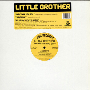 Little Brother - Whatever You Say / Light It Up