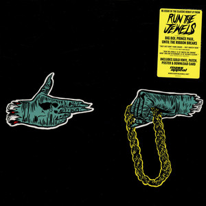Run The Jewels (El-P + Killer Mike) - Run The Jewels Gold Yellow Colored Vinyl Edition
