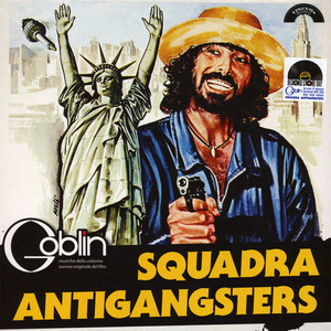 Goblin - OST Squadra Antigangsters Blue Vinyl Edition