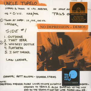 Uncle Tupelo - No Depression – Rarities