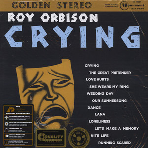 Roy Orbison - Crying 45RPM, 200g Vinyl Edition