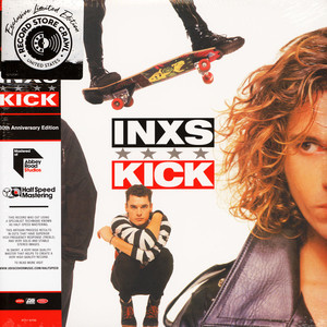 INXS - Kick 30th Anniversary Red Vinyl Edition