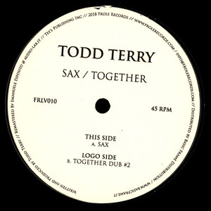 Todd Terry - Sax / Together