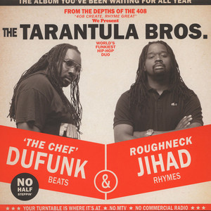 Tarantula Brothers, The - Roughneck Jihad & Du Funk Red-Black Colored Vinyl Edition