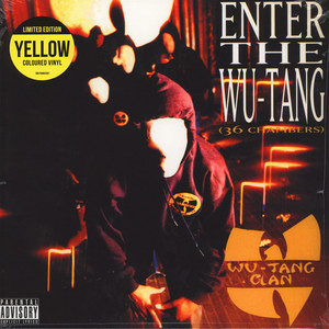 Wu-Tang Clan - Enter The Wu Tang (36 Chambers) Yellow Vinyl Edition