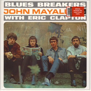 John Mayall With Eric Clapton - Blues Breakers Blue Vinyl Edition