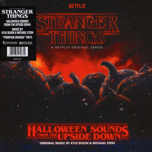 Kyle Dixon & Michael Stein - OST Stranger Things: Halloween Sounds From The Upside Down  Pumpkin Orange Vinyl Edition