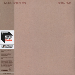 Brian Eno - Music For Films Limited Half Speed Mastered Edition