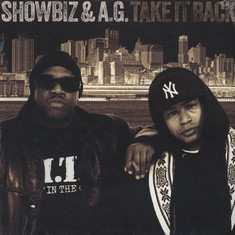 Showbiz & AG - Take It Back Black Vinyl Edition