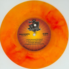 DJ Sausage Fingaz - Knockouts Colume 3 Orange Marbled Vinyl Edition