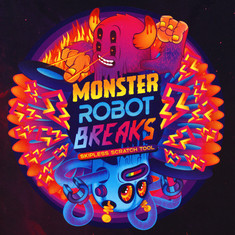 DJ Bacon - Monster Robot Breaks Purple Vinyl Edition
